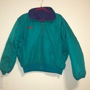 Vintage Double sided Columbia winter jacket